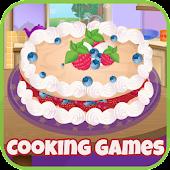fruit pie cooking