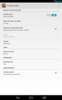 Screenshot of Pacotes: Rastrear Encomendas