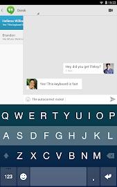 Fleksy Keyboard Free Screenshot 8