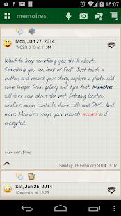 Memoires: the Diary - screenshot thumbnail