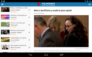 Screenshot of Telemundo Arizona