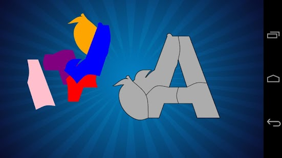 ABC Alphabet Puzzle Pre School - screenshot thumbnail