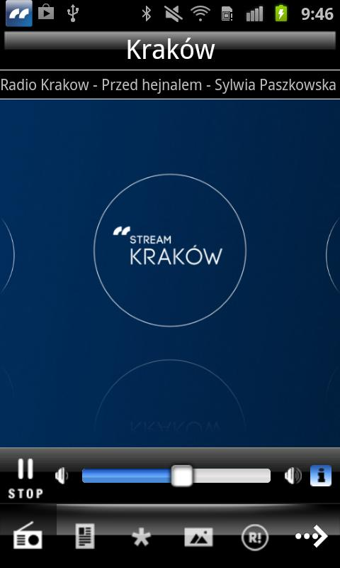Radio Kraków - screenshot
