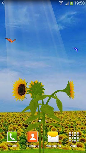 Sunflower - 3D Garden