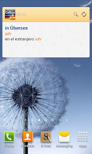 German<>Spanish Dictionary T - screenshot thumbnail