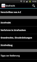 Screenshot of Strafrecht