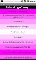 Screenshot of Preguntas de Ginecologia