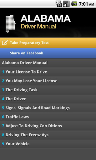 Alabama Driver Manual