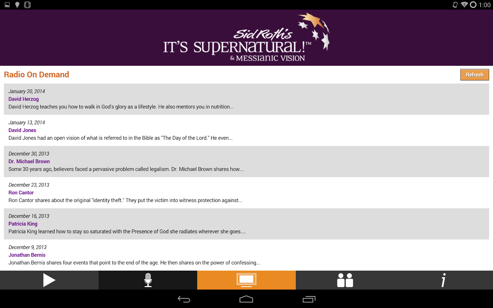 sid roth s it s supernatural google play store revenue phone