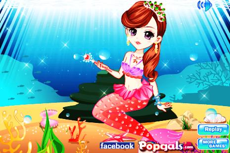美麗的人魚公主裝扮