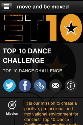 TOP 10 DANCE CHALLENGE