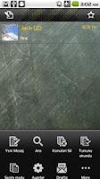Screenshot of Handcent SMS Turkish Language