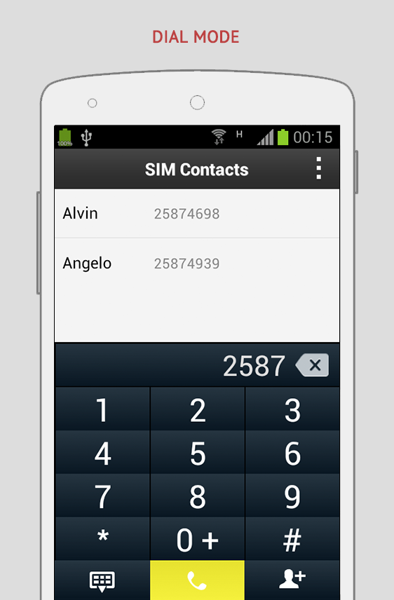 SIM Contacts Pro- screenshot