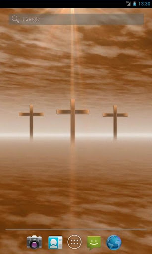 Three Crosses Live Wallpaper