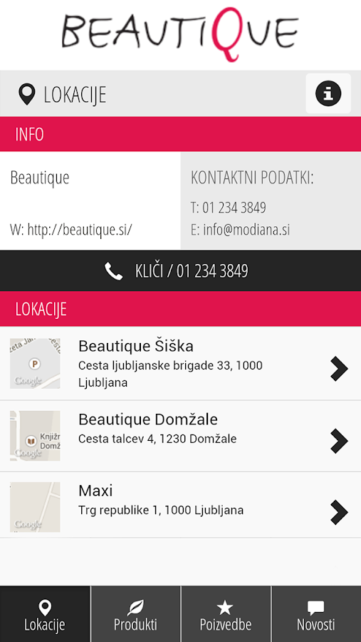 Beautique - screenshot