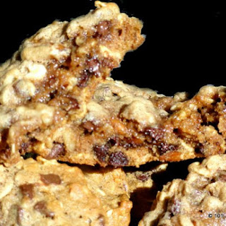 Healthy Breakfast Cookies - Chocolate Chip Oatmeal.