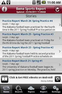 Bama Sports Report - screenshot thumbnail