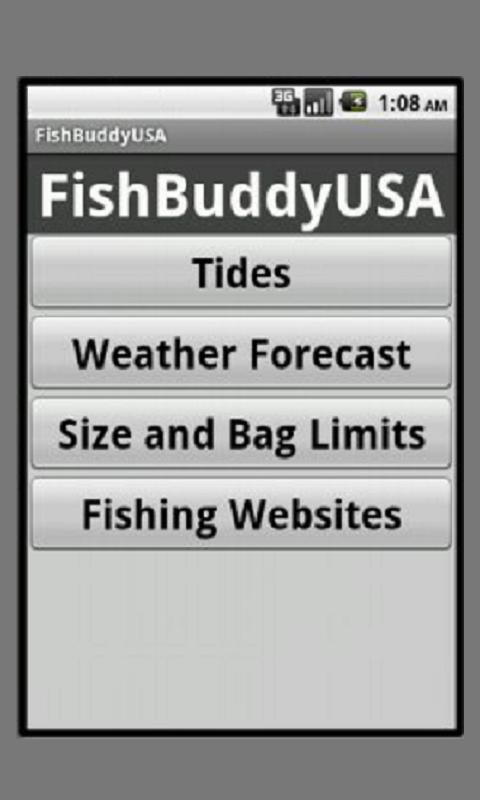 FishBuddyUSA - screenshot