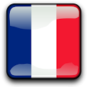France Flag Clock Widget icon