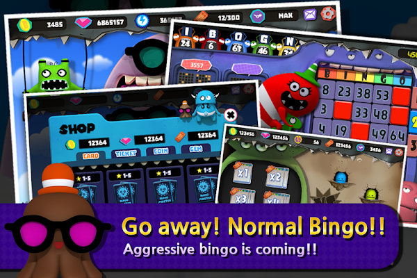 Bingo Monster - screenshot