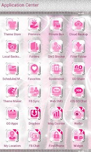 Ultra Cute Pink Zebra Theme- screenshot thumbnail