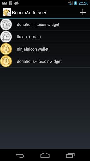 BitcoinAddresses