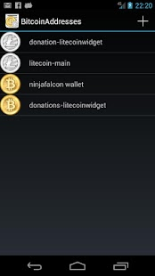 BitcoinAddresses- screenshot thumbnail