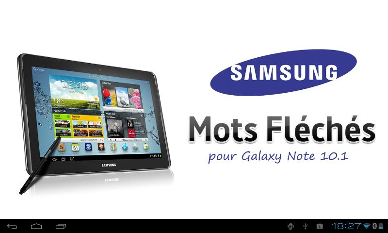 Mots Fléchés pour Galaxy 10.1 - screenshot