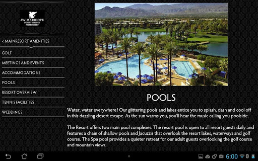 JW Marriott Desert Springs|玩旅遊App免費|玩APPs