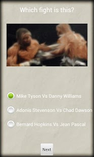 Guess That Boxing Fight - screenshot thumbnail
