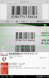 ISBN Scan - náhled