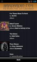 Screenshot of Hard Radio Rock Heavy Metal