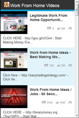 Work From Home Videos