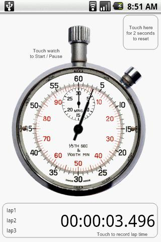 Old Fashioned Stopwatch Timer