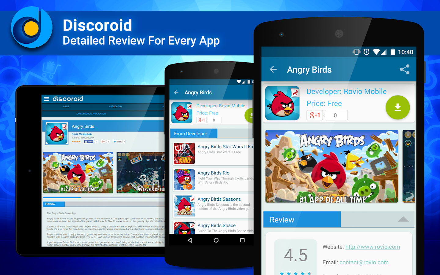 Discover Android - Discoroid- screenshot