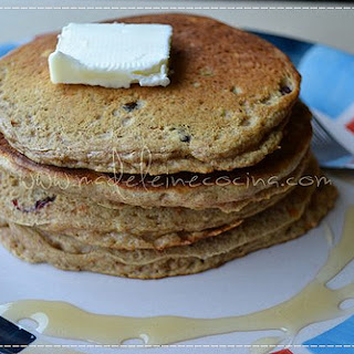 Carrot and Blackberry Hotcakes.