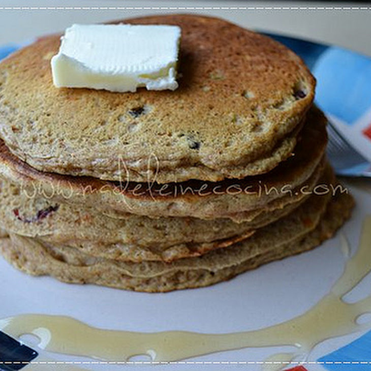 Carrot and Blackberry Hotcakes