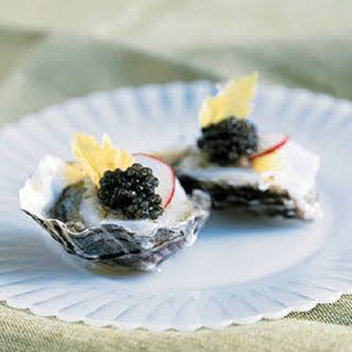 Caviar Oysters Recipes.