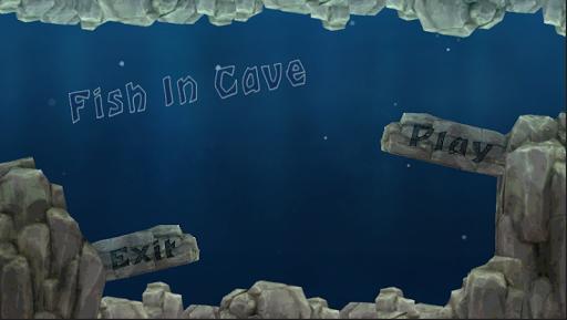 Fish In Cave