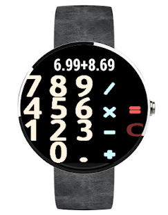 Calculator - Android Wear- screenshot thumbnail