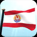 Polinesia francés Bandera 3D icon