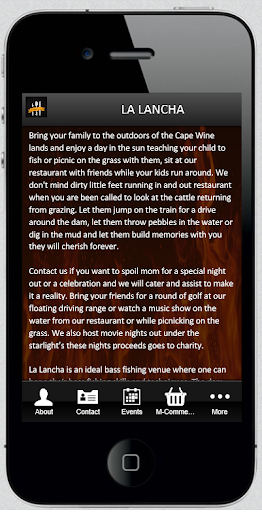 La Lancha Restaurant|玩商業App免費|玩APPs
