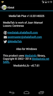MediaTabPlus- screenshot thumbnail