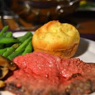 Roast Beef with Yorkshire Pudding.