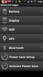 Battery Info Widget - screenshot thumbnail