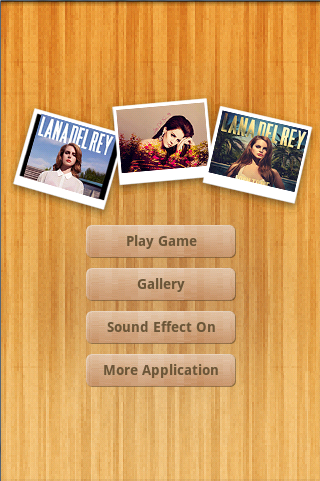 Lana Del Rey Wallpapers Puzzle - screenshot