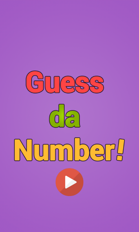 Guess Da Number!- screenshot