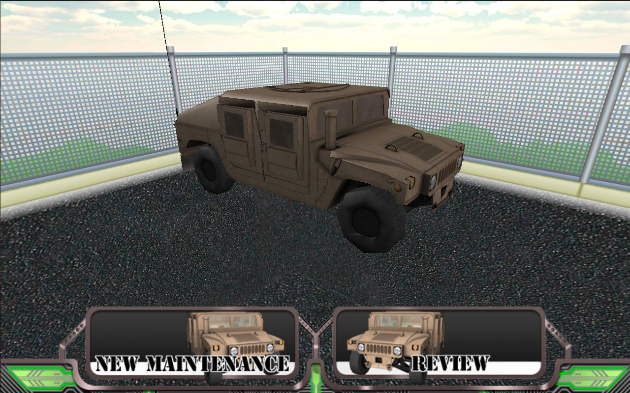 Humvee PMCS - screenshot