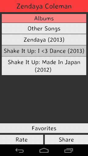 Zendaya Coleman Lyrics