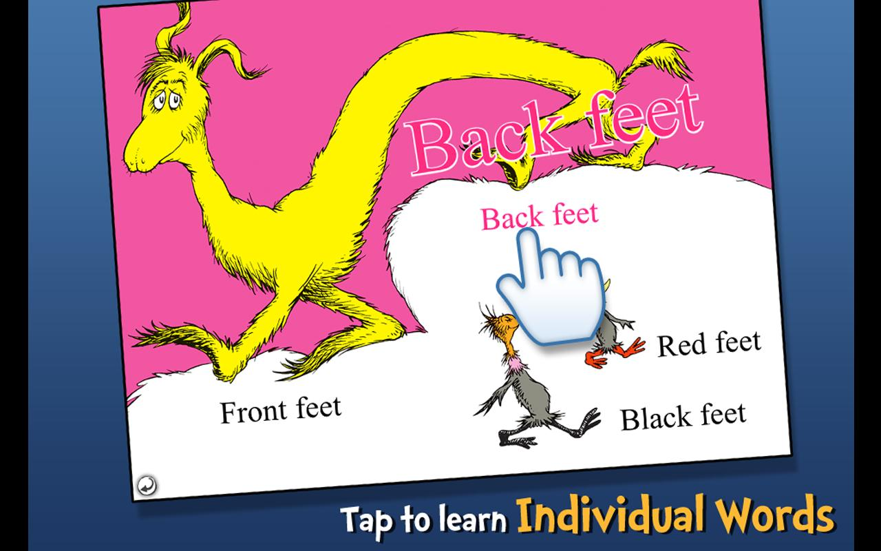 The FOOT Book - Dr. Seuss Screenshot 2